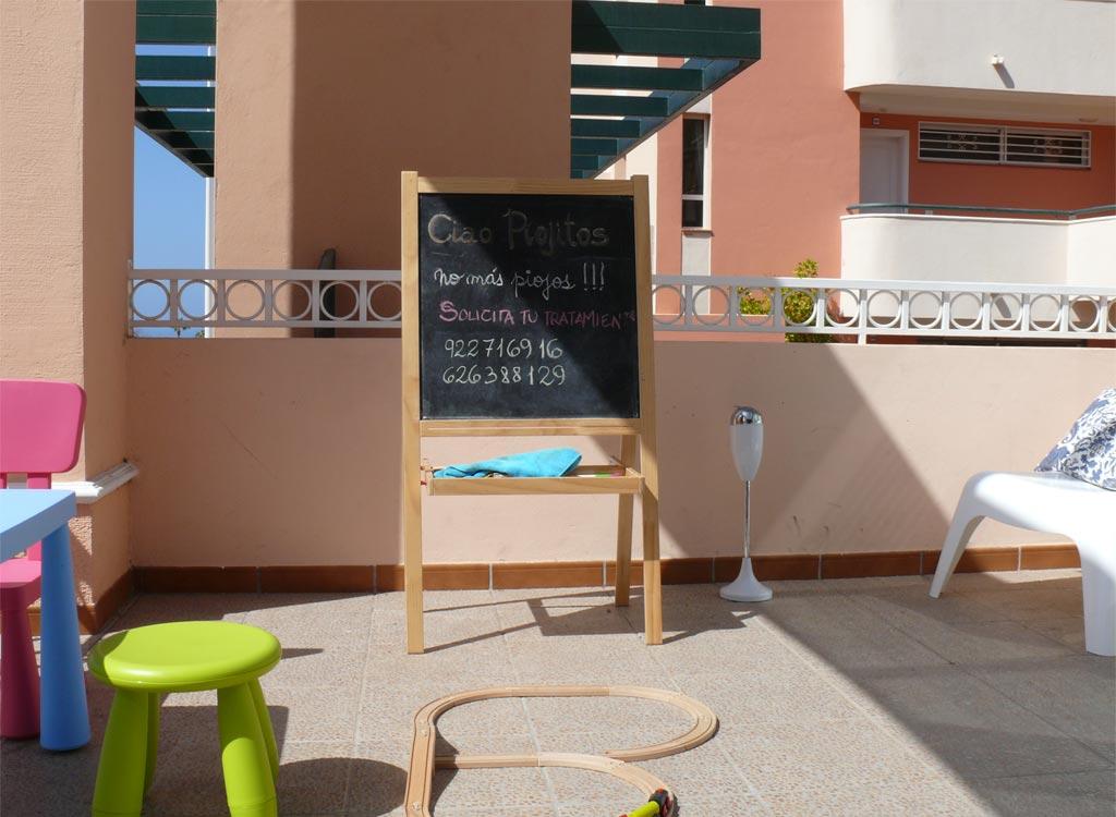 Instalaciones terraza